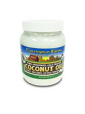 100% Organic Extra Virgin Coconut Oil Gluten Free Pure Cold Pressed Unrefined