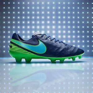 Dettagli su Nike Tiempo Legend IV AG Pro acc Scarpe Da Calcio Blu Tg UK 7 844593 443 mostra il titolo originale