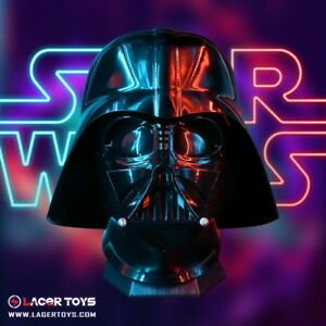 Lager Toys Scale 1//1 Star Wars Darth Vader Helmet Cosplay
