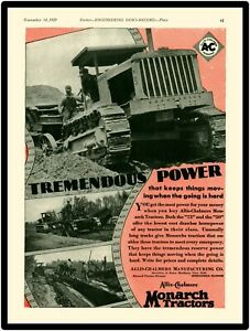 """Allis Chalmers Power Marquee Style Metal Sign 6/""""x18/""""  Free Shipping"""