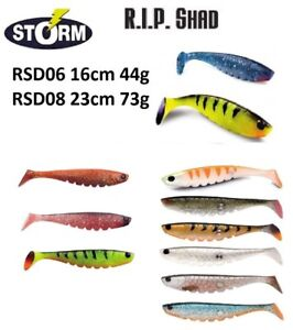 Storm-R-i-p-Alose-Flexible-Appat-Leurre-Predator-16cm-44g-23cm-73g