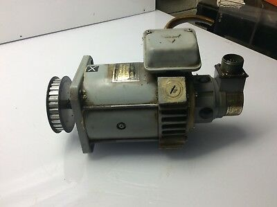 w// Sanyo G1811-097-6 Generator Encoder HD-30-029 Mitsubishi DC Servo Motor