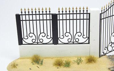 1:35 scale photo etch Metal Fence set A