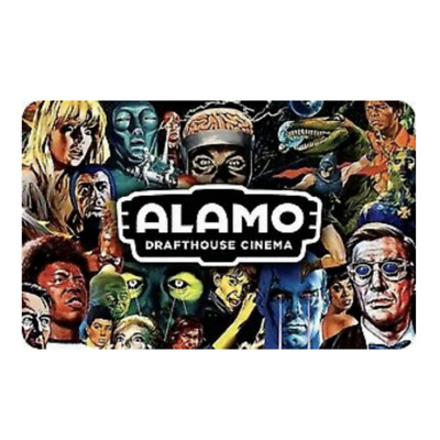 Alamo Drafthouse Cinema Gift Card - $25 $50 $100 - Fast Email delivery