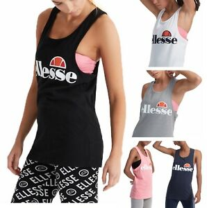 ellesse-Ladies-Abigaille-Vest-Sleeveless-T-Shirt-Sports-Top-Casual-Women-s-Tee
