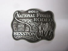 2013 Hesston National Finals Rodeo Belt Buckle Wrangler Series license product