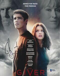 Brenton Thwaites Signed 8x10 Photo The Giver Beckett Bas Autograph Auto Coa A Special Buy Autographs-original