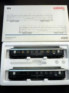 Marklin-h0-43219-set-Express-Train-034-loreley-034-of-DB-never-used-usado-nunca
