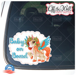 Pretty-Ponies-BABY-ON-BOARD-Buyers-Choice-of-Ponies-Awareness-Warning-Sign