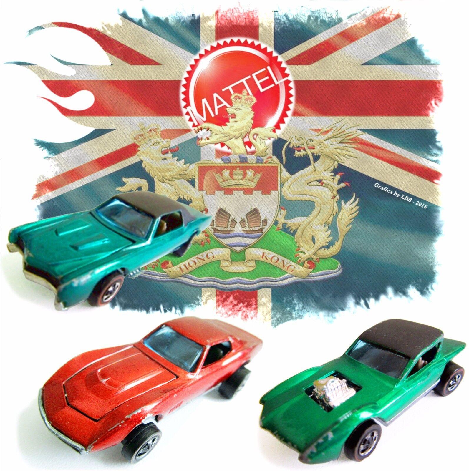 1967' Vintage Hot Wheels rossoLine Models, by Mattel - Hong Kong