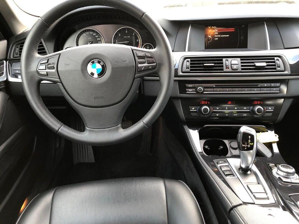 BMW 520d 2,0 Touring aut. Diesel aut. modelår 2015 km 76000