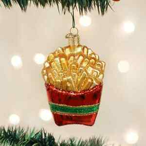 FRENCH-FRIES-FRYS-ORNAMENT-JUNK-FOOD-Comfort-FAST-FOOD-McDonalds-Mother-039-s-Day