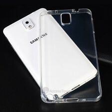 Ultra Thin Slim Fit Clear Soft TPU Silicone Cover Case For Samsung Galaxy Note 3