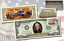 1976 BICENTENNIAL Colorized $2 Bill with First Day Issue 1976 STAMP /& POSTMARK