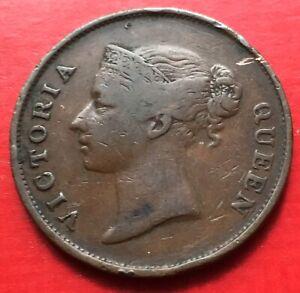 Straits-East-India-Company-Victoria-One-Cent-1862-3
