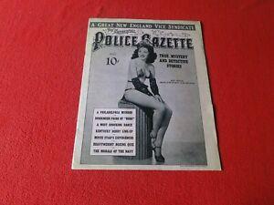 Vintage National Police Gazette Magazine March 1941 Charmaine                 QQ