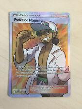 Pokemon Trainer Prof. Kukui Sun and Moon FULL ART 148/149, portuguese!