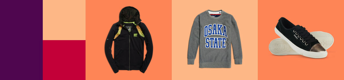 Save up to 70% on Superdry