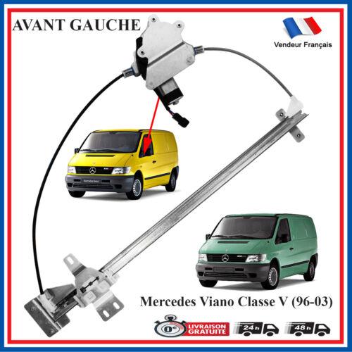 Elektrischer Fensterheber Antriebsmotor Vorne Links Mercedes Vito W638 96 03