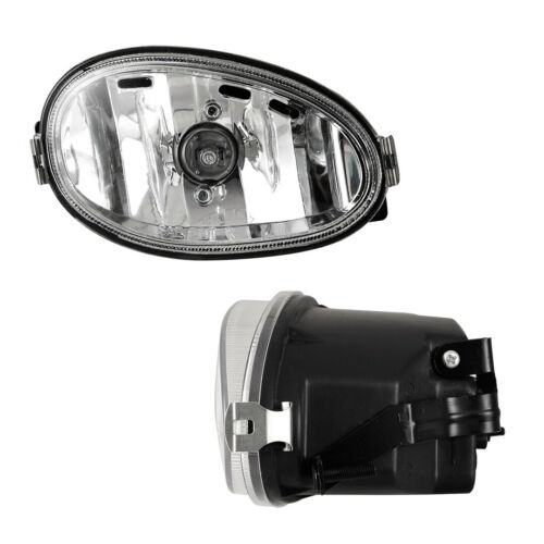 For 1998-1999 Hyundai Accent PAIR OE Factory Fit Fog Light Bumper Clear Lens
