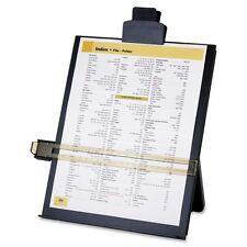 "Sparco Easel Document Holders Adjustable 10-38x2-14x12-12"" Black (SPR38952)"