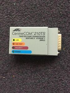 Center Com 210TS Twisted pair Transceiver - London, United Kingdom - Center Com 210TS Twisted pair Transceiver - London, United Kingdom