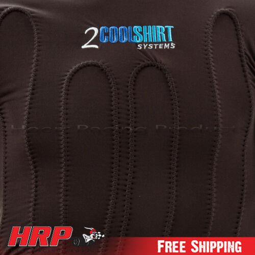Black 2Cool Water Shirt CoolShirt -Left Valve Exit-Cool Shirt 2BLCW-L X Large