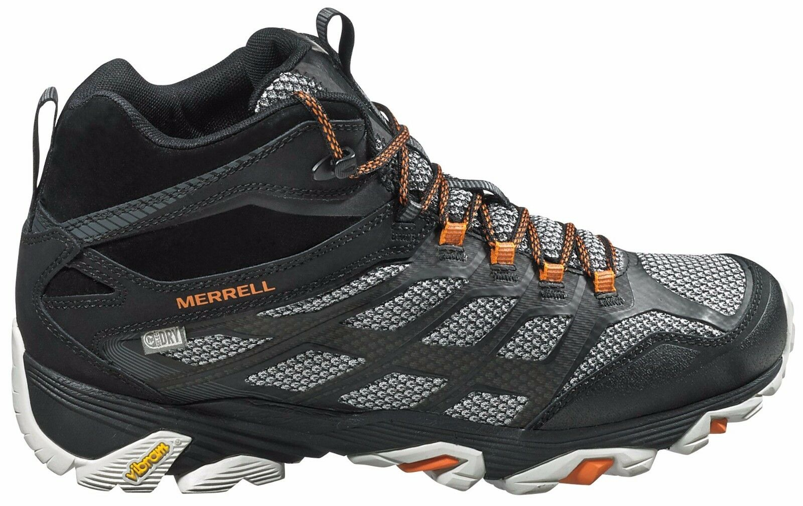 Merrell Men's Moab Fst Mid Waterproof Hiking Shoesz 7 M