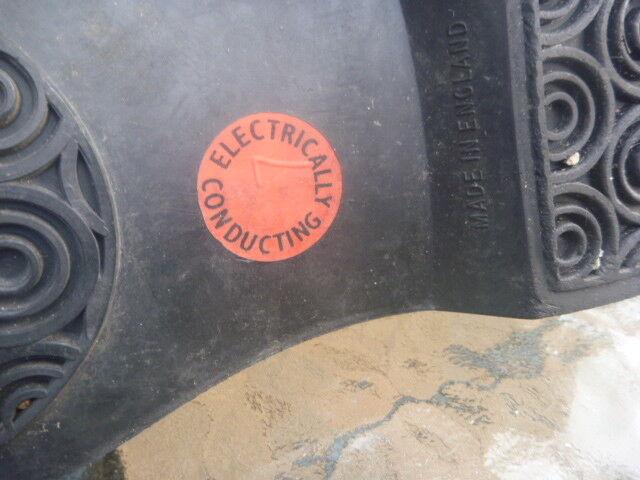 STEEL condotta PUNTALE STIVALI TAGLIA Pelle Nera Made in England condotta STEEL elettricamente 889bb9