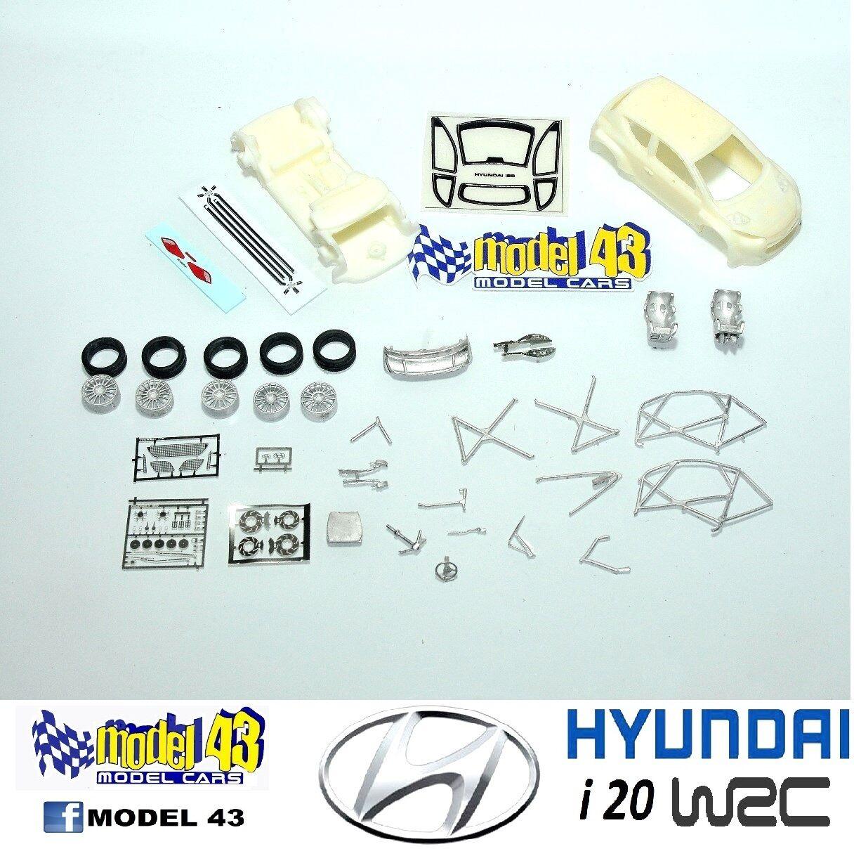 HYUNDAI i20 WRC-KIT MONTAGE