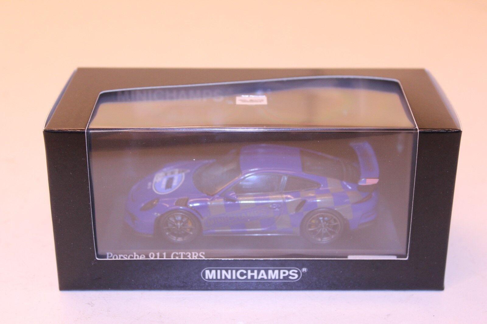 Minichamps 1 43 Porsche 911 991 GT3 RS Spokane PCA parade 2017 19 250 413063258