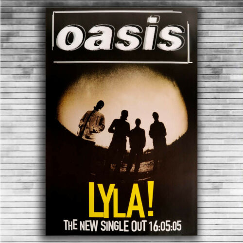 P611 Art Poster Oasis Whats The Story Morning Glory Music Star Group Singer