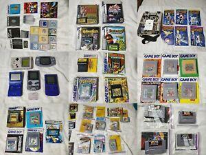 Pick Any VideoGame Cartridge for Gameboy/Color/Advance Super/Nintendo/N64/SNES