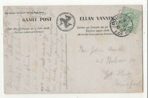 Douglas-Isle-Of-Man-8-Sep-1909-Single-Ring-Postmark-124c