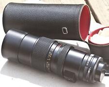 Vintage Formula 5 K-Mount Manual Zoom 80mm – 250mm - f4.5 Lens + Case + Filter
