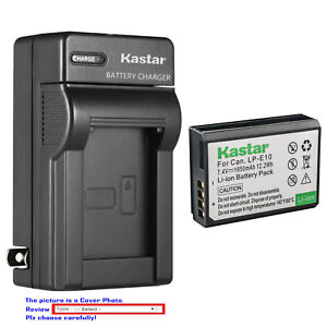 Kastar-Battery-Wall-Charger-for-Canon-Genuine-LP-E10-LPE10-Canon-LC-E10-LC-E10N