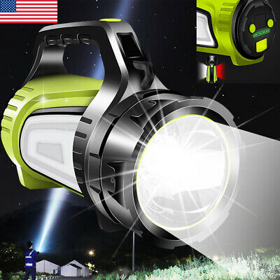 80W LED Work Light Flashlight Searchlight USB Rechargeabl Camping SURVIVAL Torch