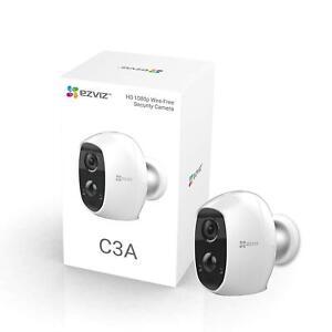Ezviz CS-C3A-A0-1C2W Full HD 1080p Indoor/Outdoor Battery Wired Free WiFi Camera