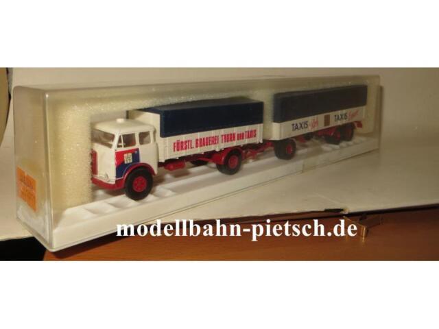 """Brekina 7852 MAN 10.212""""Fürstl.Brauerei Thurn und Taxis"""
