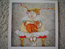 """GRACIELA RODO BOULANGER - Vintage Postcard """"Romantique"""""""