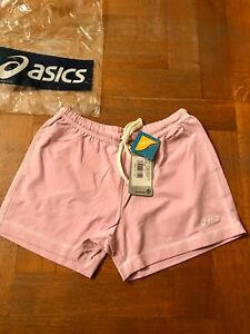 Asics-nuovi-pantaloncini-per-donna-color-rosa-taglia-M