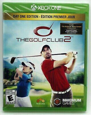 The Golf Club 2 Xbox One Golfing *Day One Edition* US NTSC ...