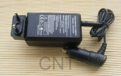 Charger for Ricoh WG-M1 WGM1 Waterproof Action Video Camera 2X Battery Pack