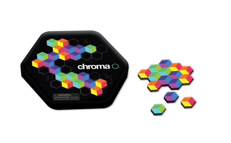 Mosaikspiel spielmagnete Hexagone IMAGE mosaique Set de table Chroma aimanté