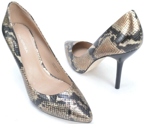 Leather Shoes VIA SPIGA Mia Women/'s Size 6.5 And 9  MSRP $198 Heels,