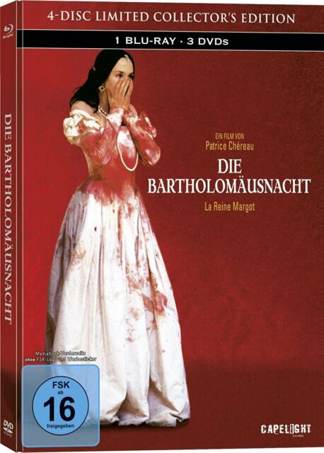 Die Bartholomäusnacht - LTD Mediabook Edition, 1x Blu-ray + 3x DVD NEU + OVP!