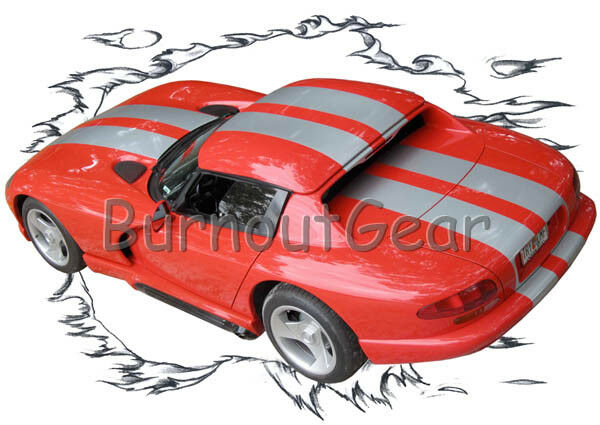 1999 rosso rosso rosso Dodge Vipper b Custom Hot Rod CLRT T-Shirt 99 Muscle Car Tees 07e694