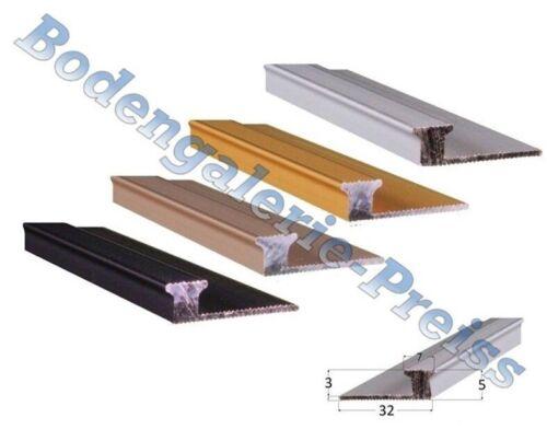 3//5mm •89-180cm Anstoßprofil •4 Farben •Übergangsprofil 8,24-9,77€//m