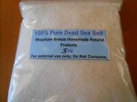 5oz. 100% Pure Dead Sea Salt From Israel Fine Grain
