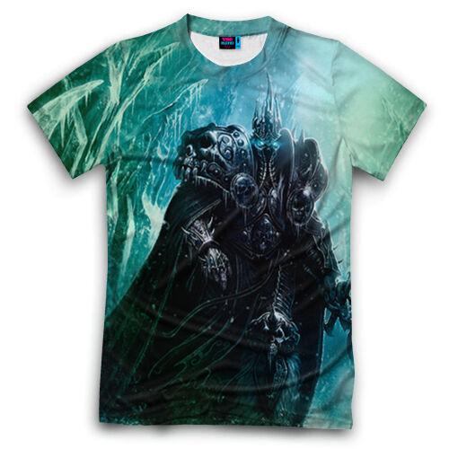 T-shirt fullprint Lich King